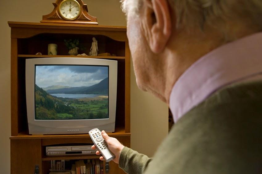 ancianos y televisión