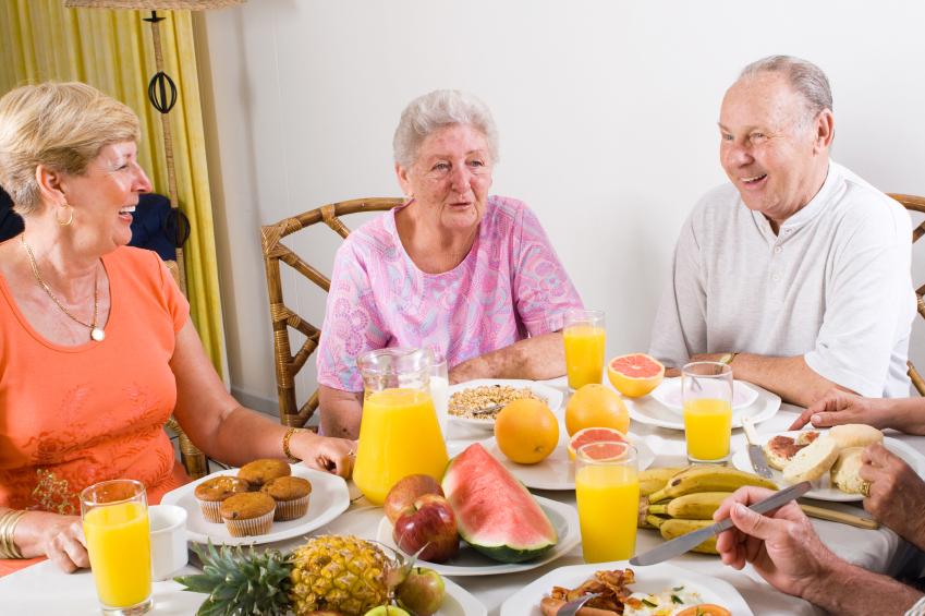 frutas para ancianos