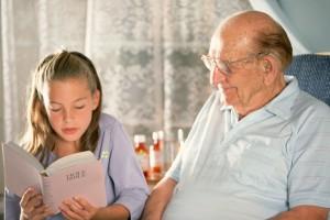 relación abuelos y nietos,