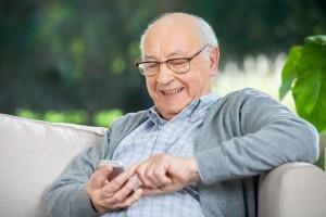 móvil para personas mayores