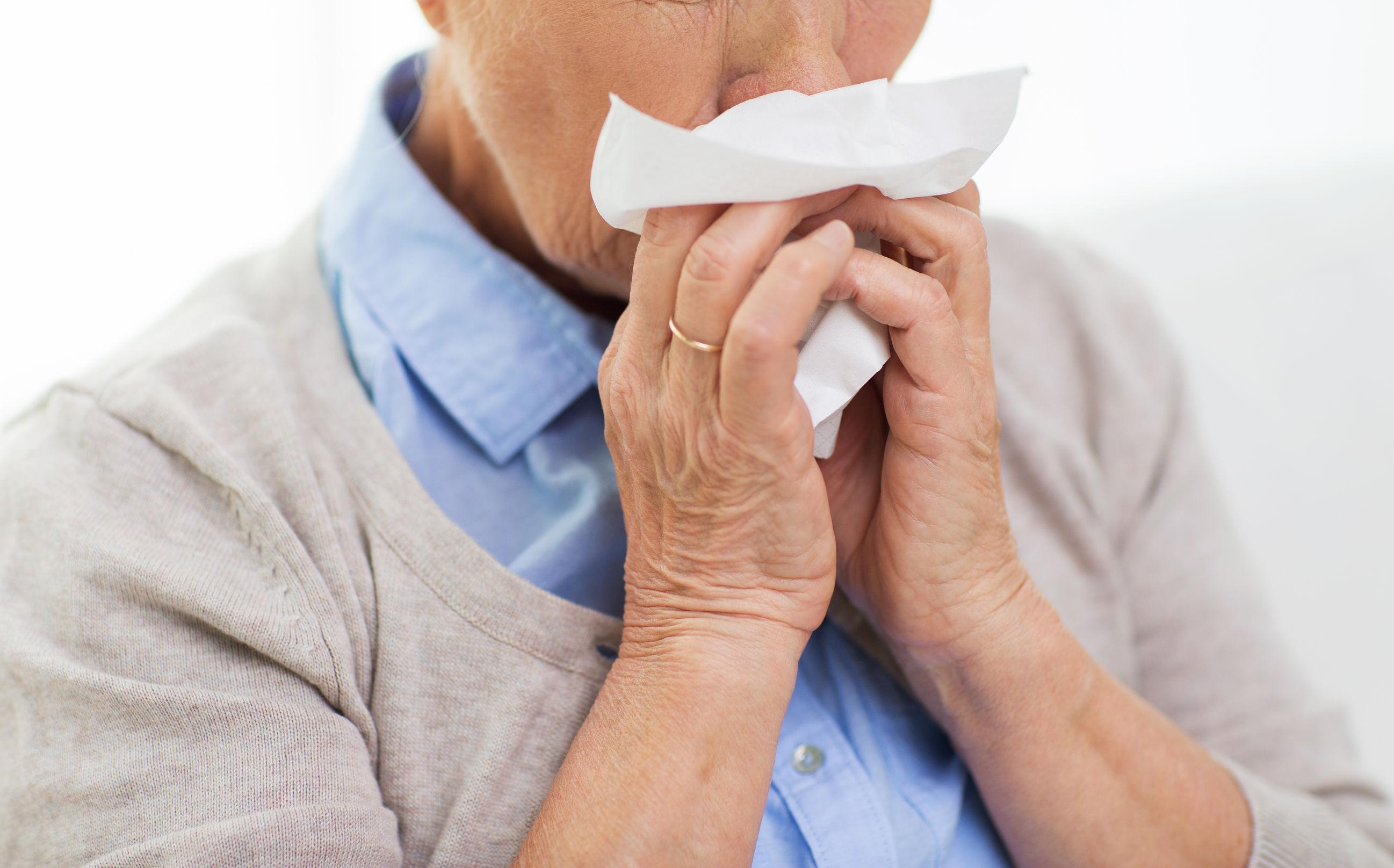 frío personas mayores