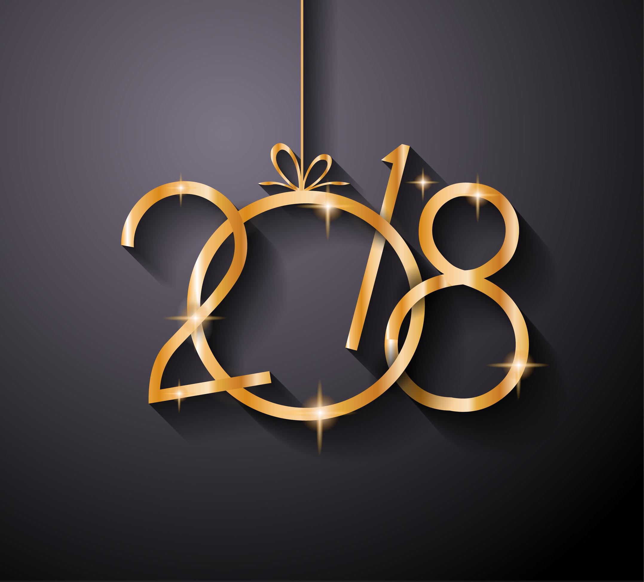 Geriatel, os desea Feliz año 2018